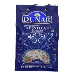 Dunar Fiestiva Basmati Rice 10 lb