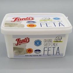 Fantis Greek Feta Cheese Tub 400g