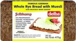 Feldkamp Rye Bread with Muesli 475g