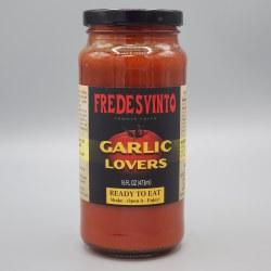Fredesvinto Garlic Lovers Pasta Sauce 16 oz