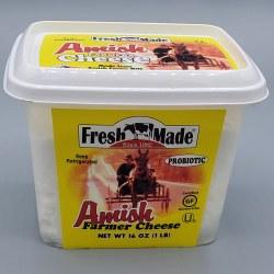 Fresh Made Amish Farmers Cheese 16oz