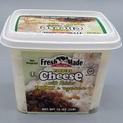 Fresh Made Farmers Cheese with Raisins 16 oz