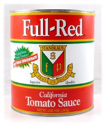 Full-Red Tomato Sauce 6 lb can