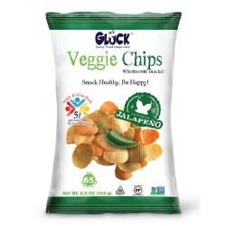 Gluck Veggie Chips Jalapeno 5 oz