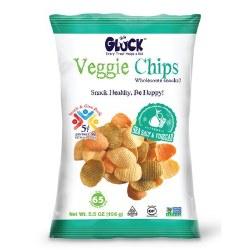 Gluck Veggie Chips Salt & Vinegar 5 oz