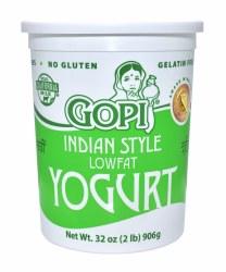 Gopi Yogurt Plain Lowfat 32oz
