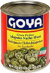 Goya Jalepeno Peppers Sliced 26oz