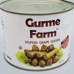 Gurme Farm Dolma Stuffed Grape Leaves Veggie 2kg