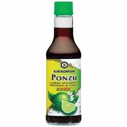 Kikkoman Ponzu  Citrus Seasoned Sauce  Lime 10oz