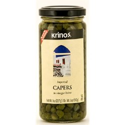 Krinos Imported Capers 8 oz