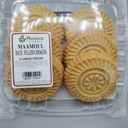 Phoenicia Maamoul Cookies Date Large 6 pc