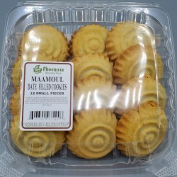 Phoenicia Maamoul Cookies Date Small 12 pc