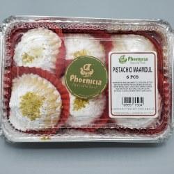 Phoenicia Maamoul Cookies Pistachio 6 pc