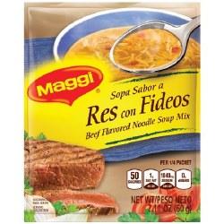 Maggi Beef Noodle Soup Mix 2.11oz