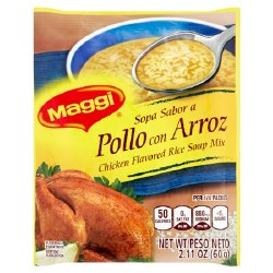 Maggi Chicken With Rice Soup Mix 2.11oz