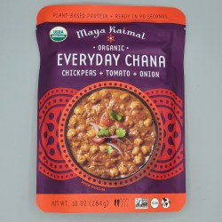 Maya Kaimal Chana Chickpea Tomato Onion Organic 10oz