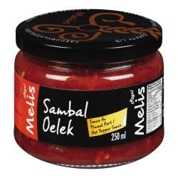 Melis Sambal Oelek Hot Sauce 10oz