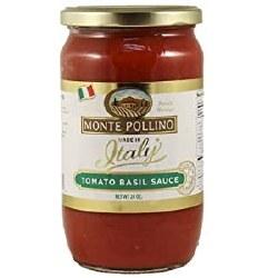 Monte Pollino Tomato Basil Sauce 24oz