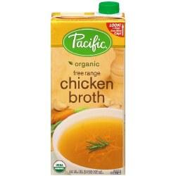 Pacific Chicken Broth Free Range 32oz