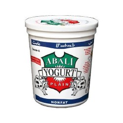 Abali Plain Yogurt Nonfat 32 oz