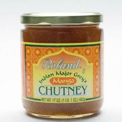 Roland Major Grey Mango Chutney 17oz
