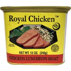 Royal Chicken Luncheon Meat Halal 12oz