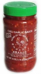 Sambal Oelek Chili Paste With Garlic 8oz