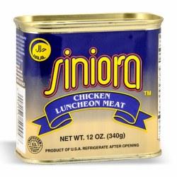 Siniora Chicken Luncheon Meat Halal 12oz