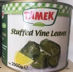 Tamek Stuffed Grape Leaves 2 Kg