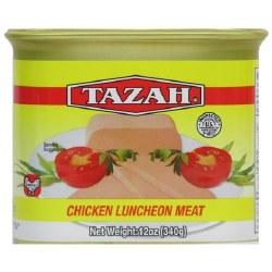 Tazah Chicken Luncheon Meat 12oz