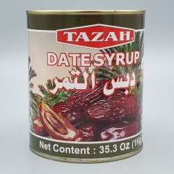 Tazah Date Syrup in Can 35oz