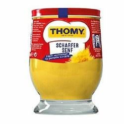 Thomy Hot Mustard 250ml glass