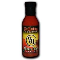 Van Ruehling Whiskey Peach BBQ Sauce 13 oz