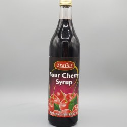 Zergut Sour Cherry Syrup 33 oz