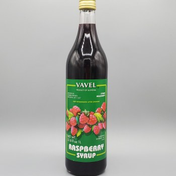 Vavel Raspberry Syrup 33 oz