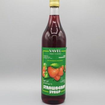 Vavel Strawberry Syrup 33 oz