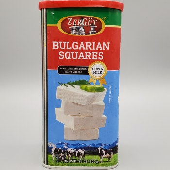 Zergut Bulgarian Cheese Squares Cow's Milk 800g