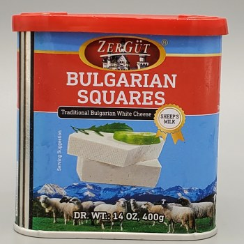 Zergut Bulgarian Cheese Squares Sheep's Milk 400g