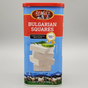 Zergut Bulgarian Cheese Squares Sheep's Milk 800g