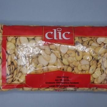 Clic Fava Beans Split Large 2lb