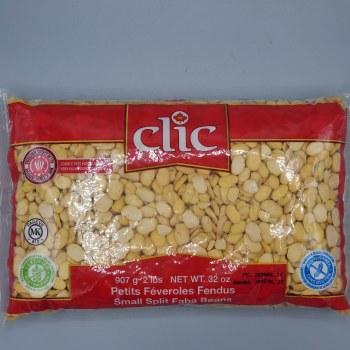 Clic Fava Beans Split Small 2lb