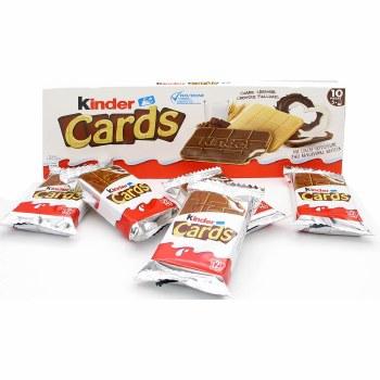 Kinder Cards (5 pack) 128g