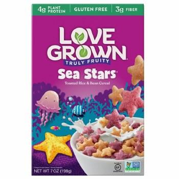 Love Grown Cereal  Kids Sea Stars 7oz