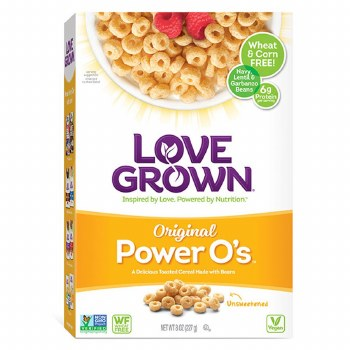 Love Grown Cereal Power O's 8oz