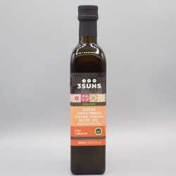 3 Suns Extra Virgin Olive Oil Unfiltered (Greece) 500ml