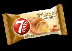 7 Days Croissant Dulce De Leche/Caramel 2.6 oz