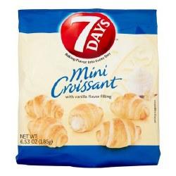 7 Days Croissant Mini Vanilla 6.5 oz