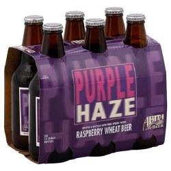 Abita Purple Haze Raspberry Wheat Beer 6 pack