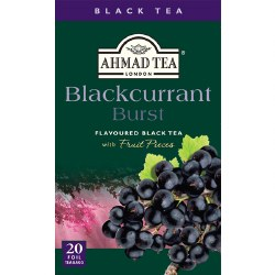 Ahmad Blackcurrant Burst Tea 20 bags