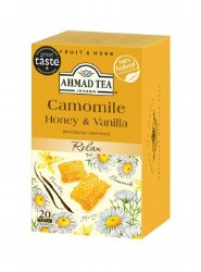 Ahmad Camomile Honey Vanilla Tea 20 bags